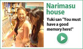 Yuki-san's life in guesthouse