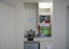 Kitchen of model room