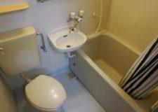 Bathroom in 1DK room