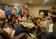 A picture from anniversary party