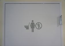 Toilet on 4th floor is only for women