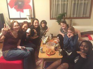 Welcome Party in Ma・Maison Hakuraku (Women only sharehouse)