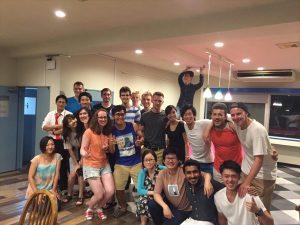 Hot Summer BBQ Party @ Firsthouse Mizonokuchi 100+b!