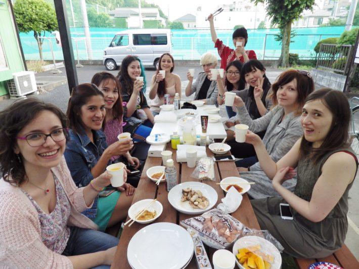 International Party @ Kamisyakuji (Nerima, Tokyo) ♪