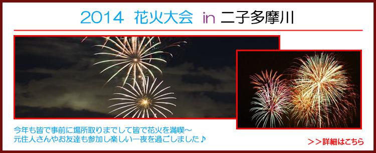 2014  花火大会 in 二子多摩川