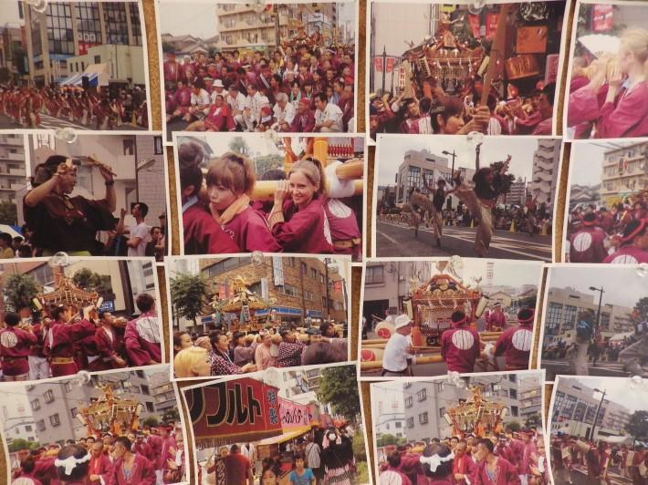 毎年恒例の地元の祭りにも参加しています☆