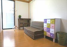 女性専用ハウスならでは可愛い家具があります♪