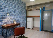 押入れ内も改装をし冷蔵庫収納で更にスペース有効活用!