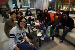 ファーストハウス横浜青葉:歓迎会というテイの飲み会。