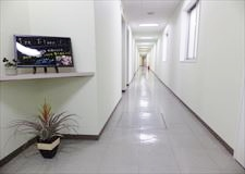開放感のある廊下です。
