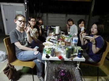 女性専用シェアハウス「マ・メゾン上石神井」でBBQパーティ★