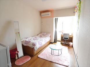 全室南向き 各お部屋はゆったり8.2畳