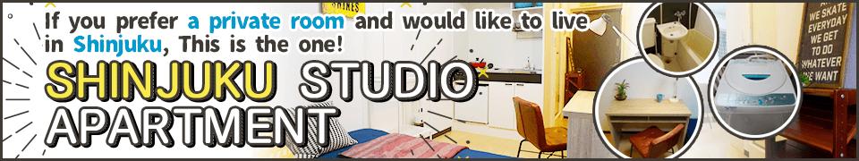 shinjuku studio apartment