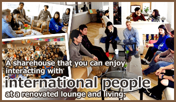 All Private furnished rooms of International sharehouses