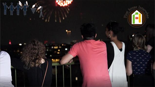 The Tamagawa Fireworks Festival