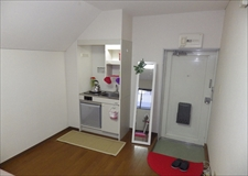 Small kitchen in each room