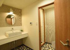 Washroom on the 2nd floor