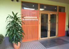 Auto-locked entrance door