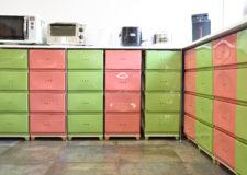 Kitchen boxes for seasoning