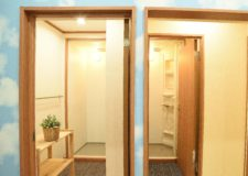 4 shower rooms (1 is for only women)