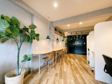 Working Lounge Completion Report   ~ First House Omori ~