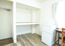Huge storage space is attached each room