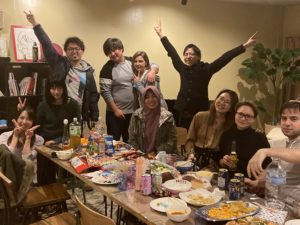 Christmas Hotpot Party!! in Firsthouse Ichigao