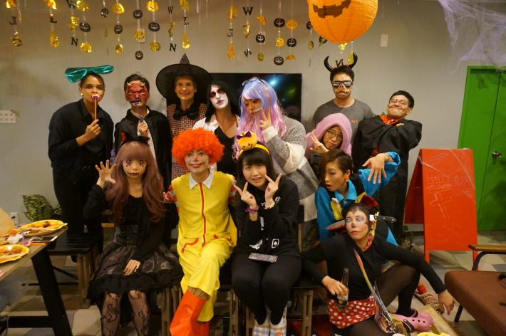 Halloween last year @ Minami Urawa