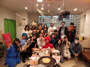 Halloween Party @ Minami Urawa in 2018♪