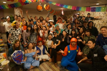 Halloween party sent by luxury cast @ Firsthouse Mizonokuchi 100 + a