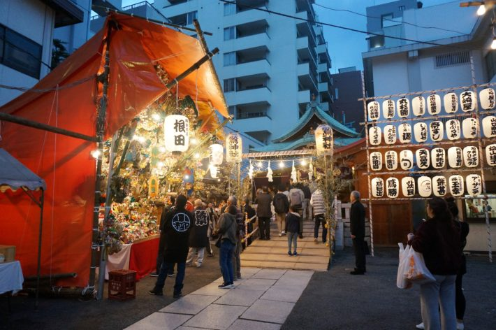 """Tori no ichi"" The biggest local event in Omori"