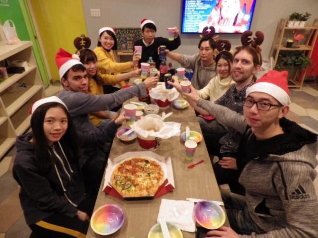 Christmas Party at First house Minami-Urawa ♪