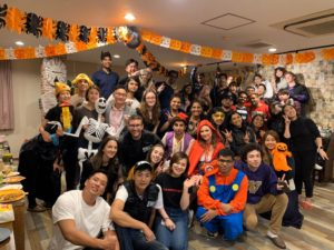 First House Mizonokuchi Halloween party