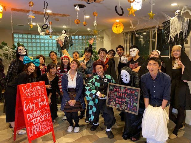 First House Minami Urawa Halloween Party