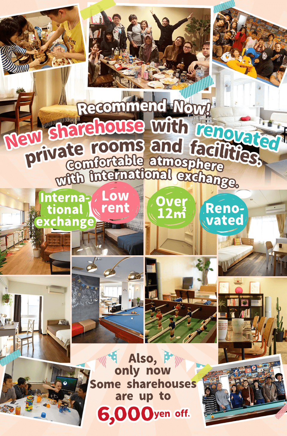Recommended Cheap Share Houses Now!
