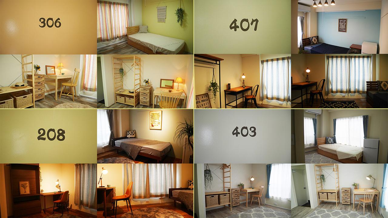 全て異なる雰囲気の広々個室をご用意しています!