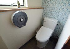 男女別々のトイレ仕様です