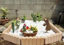 庭園作りました!