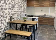 料理も楽しく出来る空間のダイニングキッチン