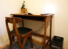 机椅子もちょうどいいサイズです♪