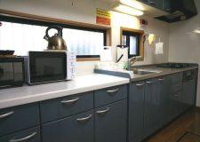 料理好きにはたまらない調理スペースもしっかり確保!