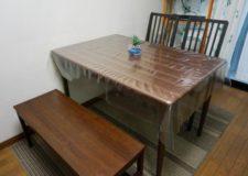 ダイニングテーブルもあり、ゆったり食事もいいですね!