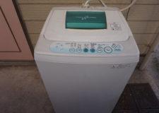 なんと個人専用の洗濯機付♪