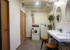 改装したばかりの洗面スペースになります!