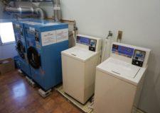 投币式洗衣机・烘干机。