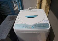 各お部屋にはなんと個人の洗濯機があります!