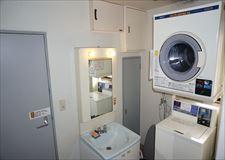 洗濯機&乾燥機はコイン式で2台ずつ完備!