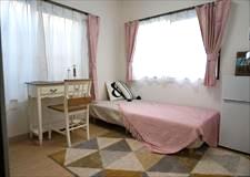 窓が2面あるお部屋もあり、風通しもいいです!