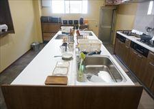 調理台スペースに余裕あります。