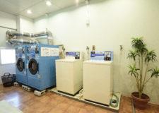 コイン式洗濯機と乾燥機が2台ずつございます。